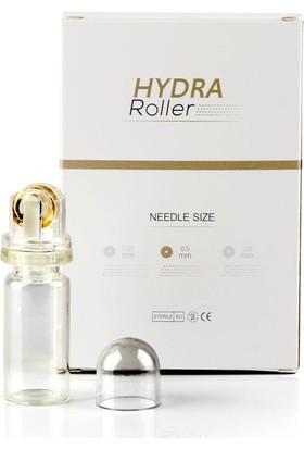 Hydra Roller Serum Ve Ampul Uygulayıcı Aplikatör Dermaroller, 20 Altın İğneli 0.25 mm