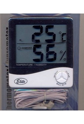 Medical Elite İç/Dış Hidro-Termometre