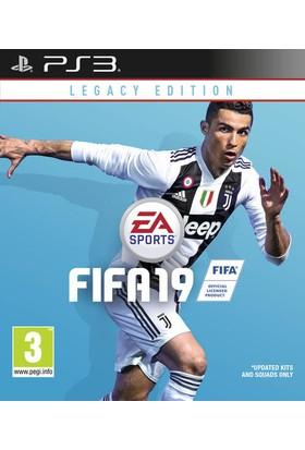 FIFA 19 Legacy Edition PS3 Oyun