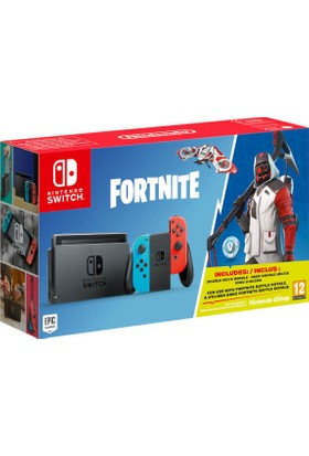 Nintendo Switch Limited Edition Fortnite Bundle