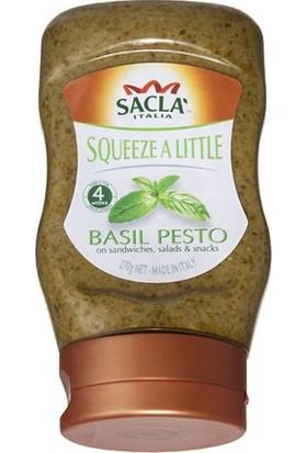 Sacla Pesto Squeezy Fesleğenli Makarna Sosu 270 gr
