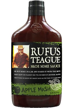 Rufus Teague Apple Mash Barbekü Sos, 454 gr