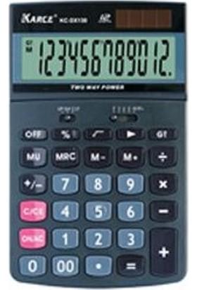 Karce Kc-Dx130 Pratik Hesap Makinesi