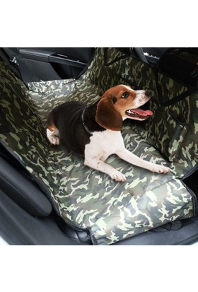 Pratik Hayat Arka Koltuk Köpek Örtüsü Araç içi Arka Koltuk Köpek Kılıfı Örtüsü