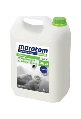 Maratem M106 Dezenfektanlı El Yıkama Sabunu 5lt