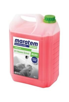 Maratem M101 Sıvı El Sabunu Pembe Sedefli 5lt