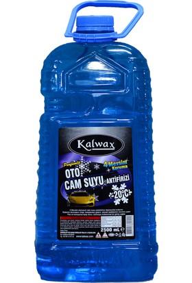 Kalwax Cam Suyu Antifrizi 2,5 lt. 8 Adet Parfümlü