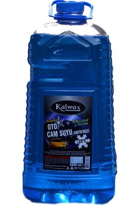 Kalwax Cam Suyu Antifrizi 5 lt. 4 Adet Parfümlü
