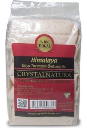 Crystalnatura Himalaya Tuzu Pembe Öğütülmüş 1 kg