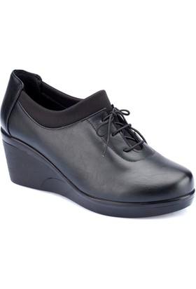 Polaris 82.150004.Z Siyah Kadın Ayakkabı