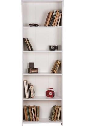 Bino Kitaplık 5 Raflı Kitaplık Çocuk Odası Kitaplık Dekoratif Kitaplık Raf Kütüphane