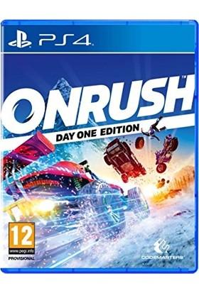 Onrush Day One Edition PS4 Oyunu