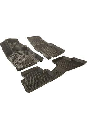 Rizline Hyundai Getz Siyah 3D Havuzlu Paspas