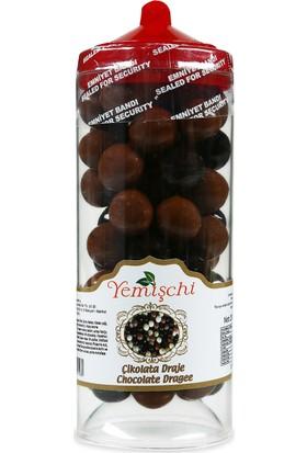 Yemişchi Alternatif Hediye Çikolatalı Fındık Draje Kahverengi Kese 200 gr