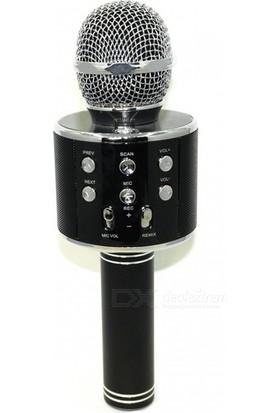 Twinix Karaoke Mikrofon Bluetooth Hoparlör Ses Değişteren Sihirli Mikrofon