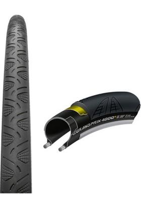 Continental Grandprix 4000S II 700 X 25mm Bisiklet Lastiği Siyah