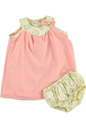 Smiley World Lisanslı Şifonlu Elbise