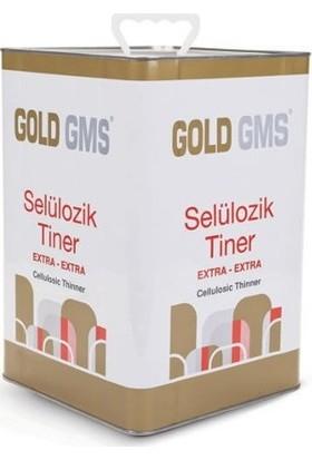 Gold Gms Selülozik Tiner Teneke 10 Litre
