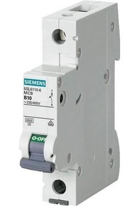 Siemens 5Sl6163-7 - 1X63A C Tipi 6Ka Otomatik Sigorta - 70Mm