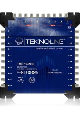 Teknoline Uydu Dağıtım Santrali - Multıswıtch - 10 / 20 S - 10 Giriş 20 Çıkış
