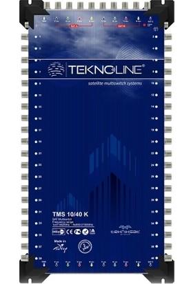 Teknoline Uydu Dagıtım Santrali - Multıswıtch - 10/ 40 K - 10 Giriş - 40 Çıkış Kaskatlı