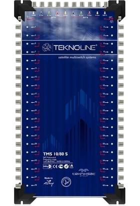 Teknoline Uydu Dağıtım Santrali - Multıswıtch - 10 / 32 K - 10 Giriş 32 Çıkış Kaskatlı