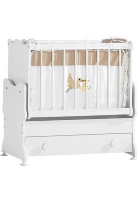 Uğur Cansın Bebek Beşiği Beyaz
