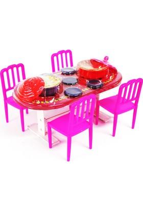 Serra Beren Büyük Yemek Masası