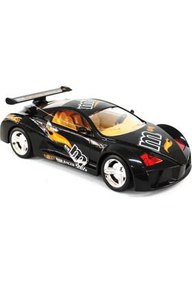 Toysan Oyuncak Famous Uzaktan Kumandalı Şarjlı Araba Siyah