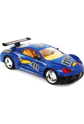 Toysan Oyuncak Famous Car Uzaktan Kumandalı Şarjlı Araba Full Fonksiyon Mavi