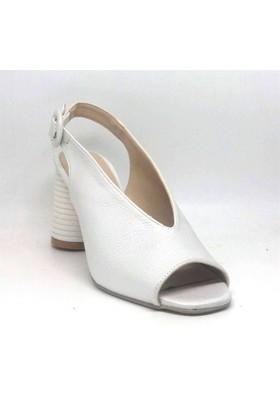 Shop And Shoes 040-302 Bayan Ayakkabı Beyaz