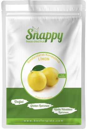 Snappy Freeze Dried Limon 15 gr