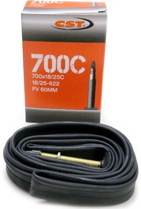 Cst İç Lastik 700x18-25 İğne 60mm Siyah