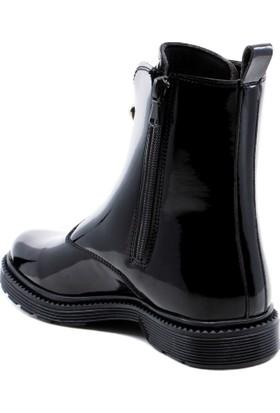 Oland DF Rugan Kadın Ayakkabı Bot Su ve Soğuk Geçirmez Fermuarlı