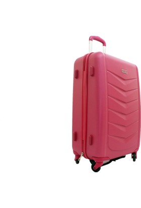 040ae711a6c41 ... T2Y-04Pc0400-3P Pierre Cardin Pembe Kabin Boy Valiz Bavul ...
