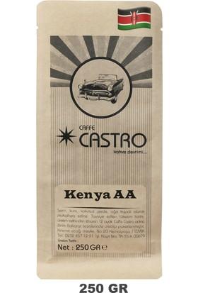 Castro Kenya AA Nyeri Nitelikli Kahve 250 gr