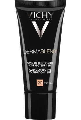 Vichy Dermablend SPF35 Foundation - Koruyucu Etkili Fondöten Vanilla No:20 30 ml