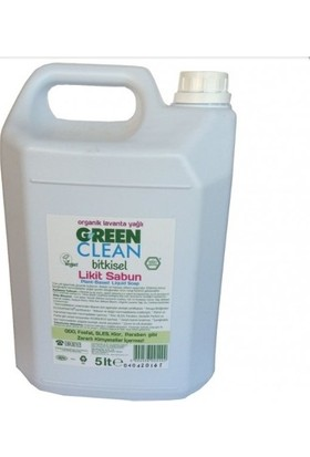 Green Clean Bitkisel Likit Sabun Portakal yağlı 5L