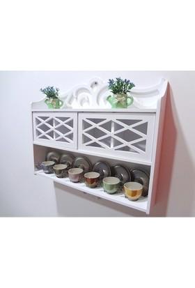 Ahşap Mdf Dekoratif Mutfak Banyo Kiler Dolabı