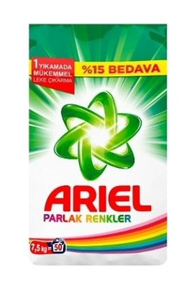 Ariel Parlak Renkler 7,5 kg
