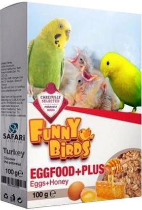 Funny Birds Ballı Yumurtalı Kuş Maması 100 gr