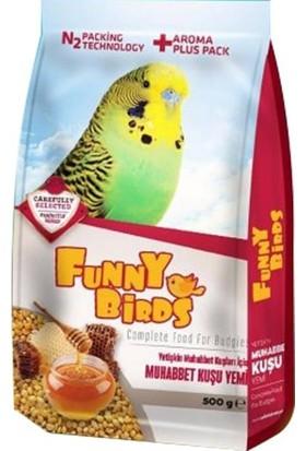 Funny Birds Ballı Muhabbet Kuş Yemi 500 gr