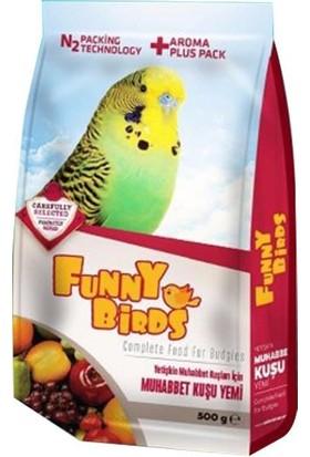 Funny Birds Meyveli Muhabbet Kuş Yemi 500 gr
