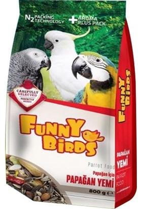Funny Birds Papağan Yemi 800 gr