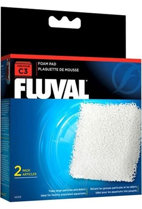 Fluval C3 Filtre Süngeri 2li