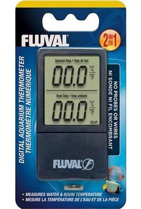 Fluval 2 Ekranlı Oda Ve Akvaryum Termometresi
