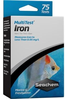 Seachem Multitest Iron 75 Çubuk