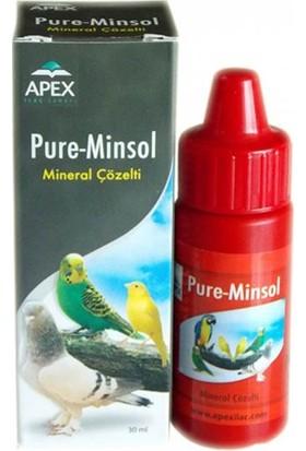 Apex Pure Minsol Kuşlar İçin Mineral Çözelti 30ml