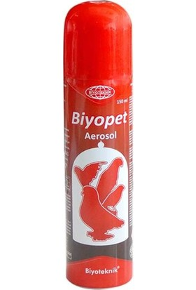 Biyopet Aerosol Kuş Parazit Spreyi