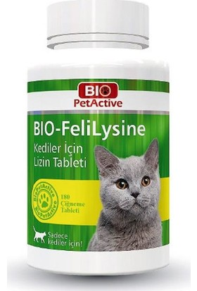 Bio Pet Active BIO-Felilysine Kedi Lizin 90 Tablet